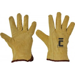 Rękawice robocze całoskórzane