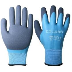 Rękawice robocze nitrylowe